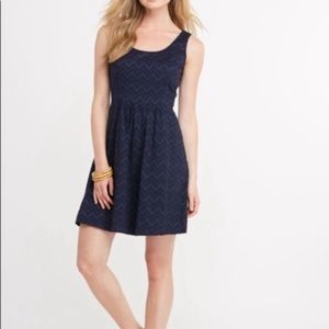 Vineyard Vines Chevron Fit and Flare stitch Dress